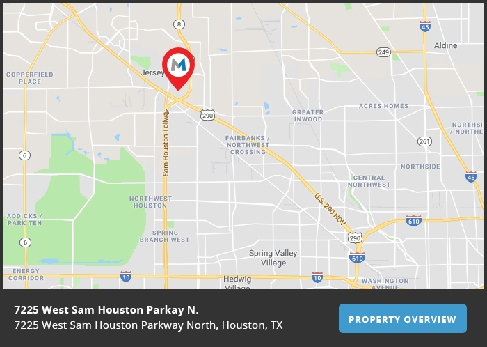 West Sam Houston Parkway Map